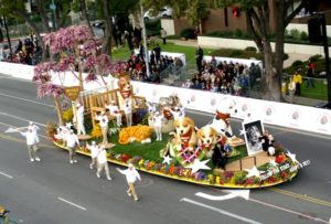 Rose Bowl Parade Float