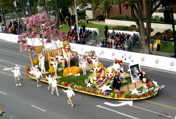 Rose Bowl Parade Float